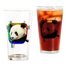 Pandas Drinking Glass