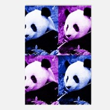 Pandas Postcards (Package of 8)