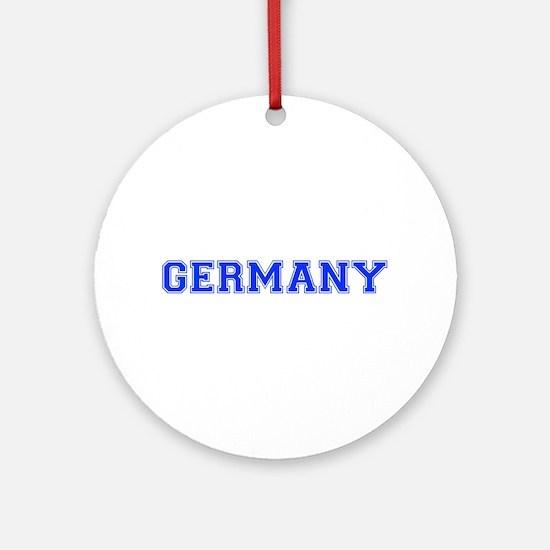 Germany-Var blue 400 Ornament (Round)