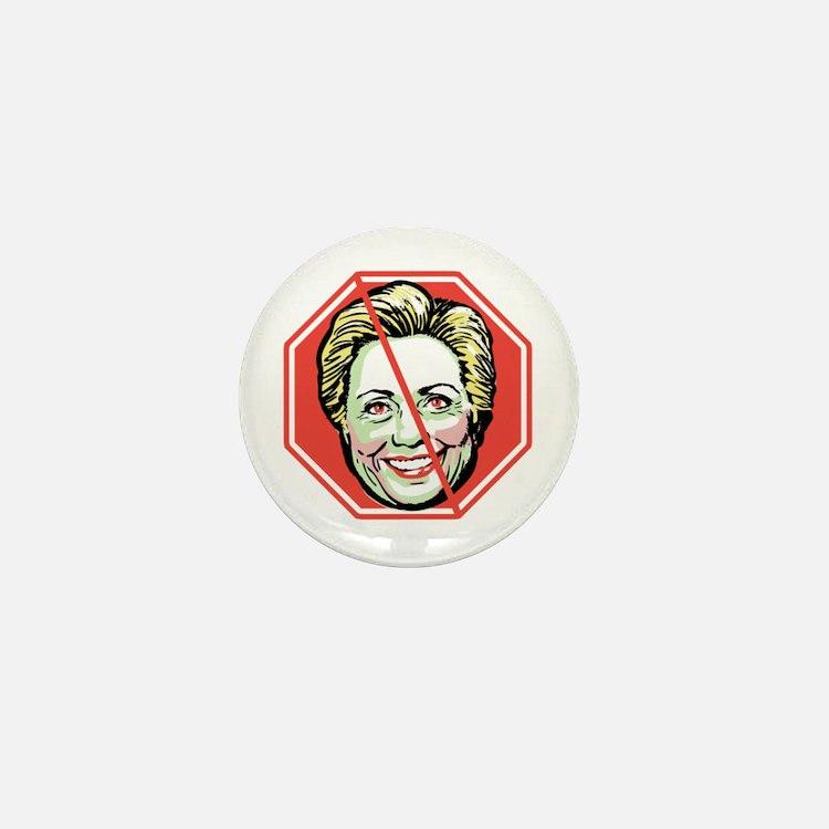 Hillary H8R Mini Button