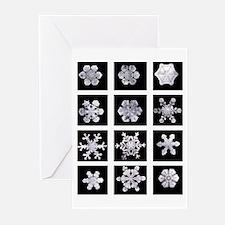 Snowflake Grid Solstice Cards (Pk of 20)