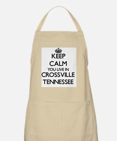 Keep calm you live in Crossville Tennessee Apron