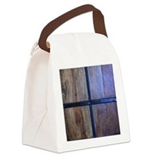 knock knock  Canvas Lunch Bag