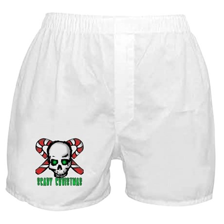 Skull & Candy Canes Boxer Shorts
