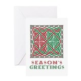 Celtic knot Greeting Cards