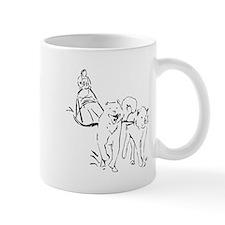 Dog Sled Racing Mugs