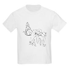 Dog Sled Racing T-Shirt