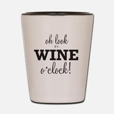 Wine O Clock Shot Glass