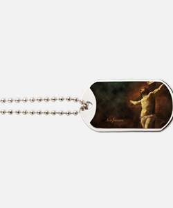 It Is Finished Dog Tags
