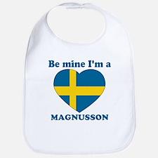 Magnusson, Valentine's Day Bib