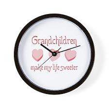 GRANDCHILDREN Wall Clock