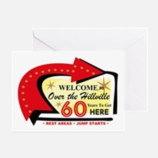 Over the Hillville 60 Greeting Card