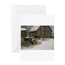 Unique Tractors Greeting Card