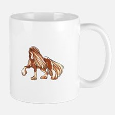 CLYDESDALE HORSE LARGER Mugs