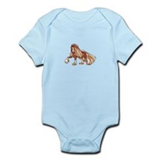 CLYDESDALE HORSE LARGER Body Suit
