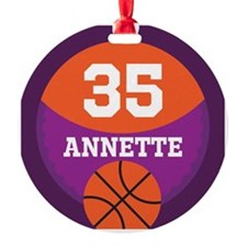 Basketball Player Sports Personalized Ornament