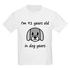 13 dog years 2 T-Shirt