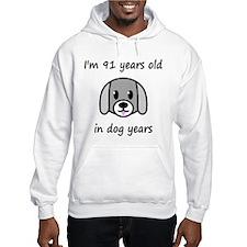 13 dog years 2 Hoodie