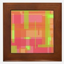 Patches 1 Framed Tile