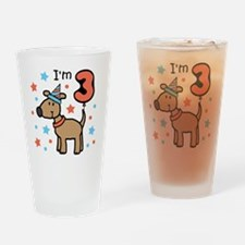 I'm 3 Drinking Glass