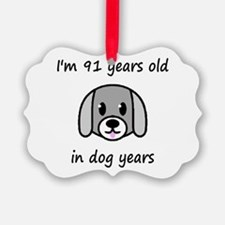 13 dog years 2 - 2 Ornament