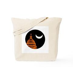 Moonrise Over DC Tote Bag