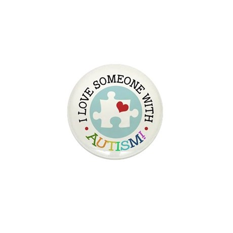 Autism Puzzle - Mini Button (100 pack)
