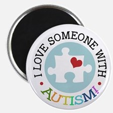 "Autism Puzzle - 2.25"" Magnet (10 pack)"