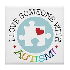 Autism Puzzle - Tile Coaster