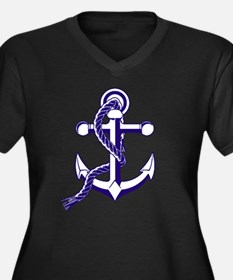 Old Style Anchor Plus Size T-Shirt
