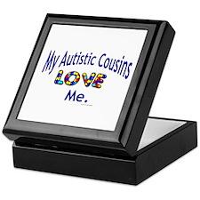 My Autistic Cousins Love Me Keepsake Box
