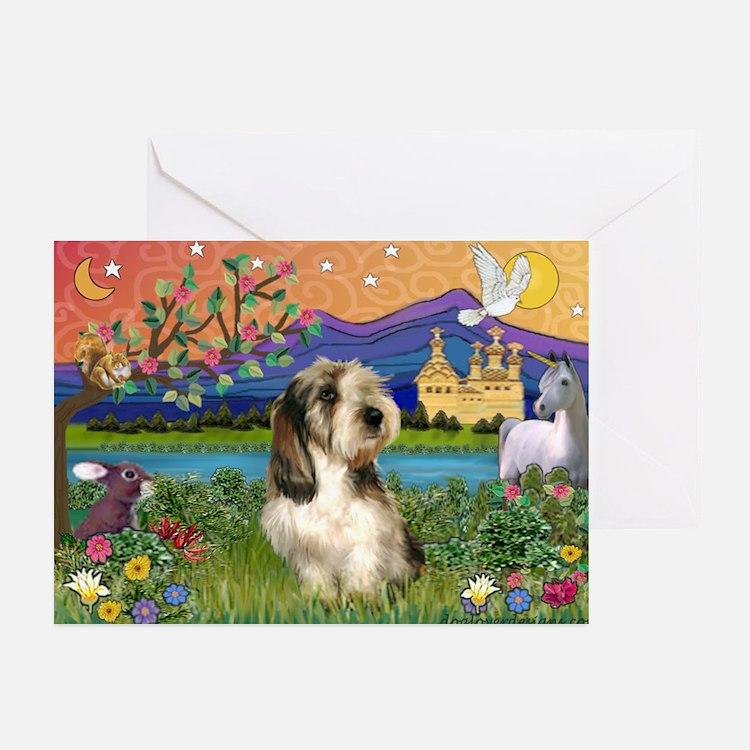 PBGV in Fantasy Land Greeting Cards (Pk of 20)