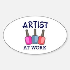 ARTIST AT WORK Decal