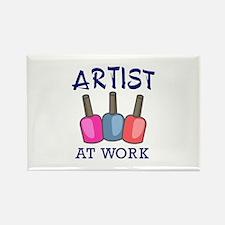 ARTIST AT WORK Magnets