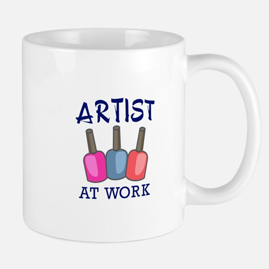 ARTIST AT WORK Mugs