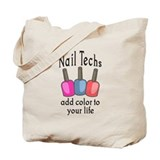 Manicurist Regular Canvas Tote Bag