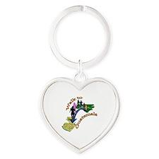Walk2Guatemala Heart Keychain