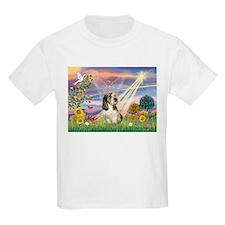 Cloud Angel & PBGV T-Shirt