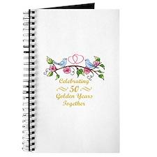 GOLDEN WEDDING ANNIVERSARY Journal