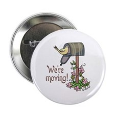 "WERE MOVING 2.25"" Button (100 pack)"