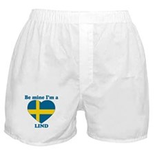 Lind, Valentine's Day  Boxer Shorts