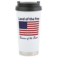 Cute Patriotic Travel Mug