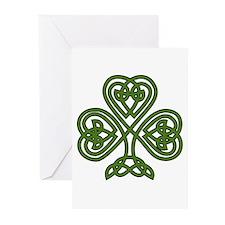 Celtic Shamrock - St Patricks Day Greeting Cards