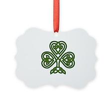 Celtic Shamrock - St Patricks Day Ornament