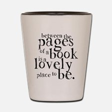 Between the Pages Shot Glass