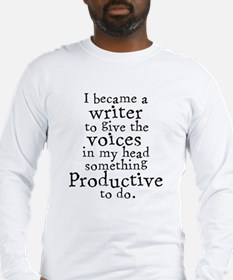 Something Productive Long Sleeve T-Shirt