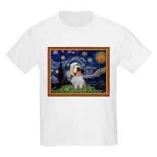 Starry Night PBGV T-Shirt