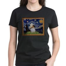 Starry Night PBGV Tee