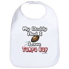 My Daddy And I love Tampa Bay Bib