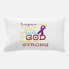 God Strong Pillow Case